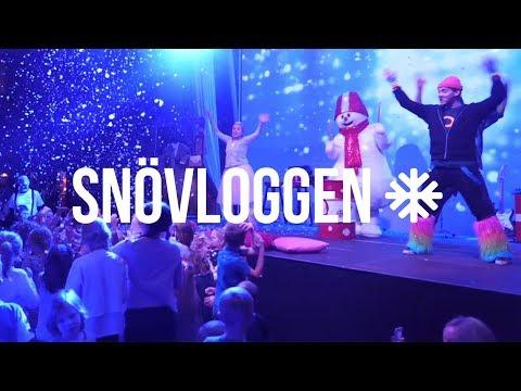 Familjen Reinhold på Valles middagsshow l SNÖVLOGG 14