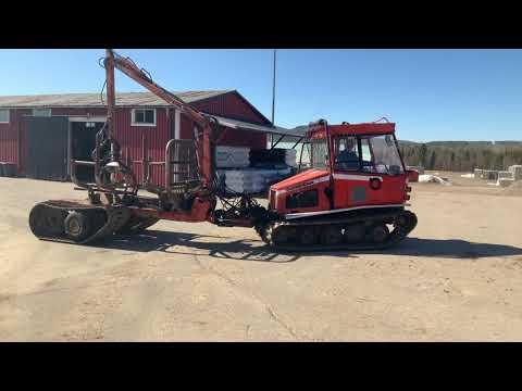 Skogsmaskin Farmi Track 3500