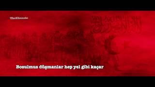 """Kafkas İslam Ordusu - Kafkasya Marşı: """"Kafkasya dağlarında çiçekler açar"""""""