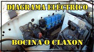 Diagrama Eléctrico Bocina o Claxon