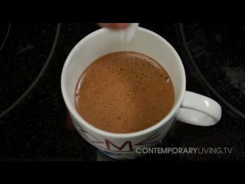 Whipped Hot Chocolate from Contemporary Living