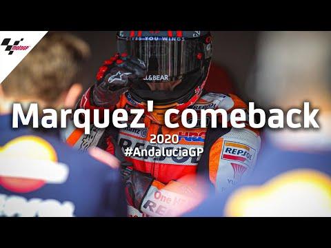 Marc Marquez' incredible Jerez comeback! | #AndaluciaGP