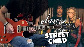 STESH - Street Child (1st and 2nd Solos) (cover Elan feat. Slash)