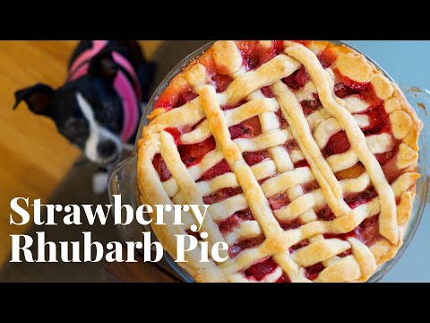 How to Make Strawberry Rhubarb Pie with Olivia and Ori | Chowhound at Home