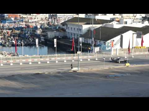 King of Morocco's Motorcade