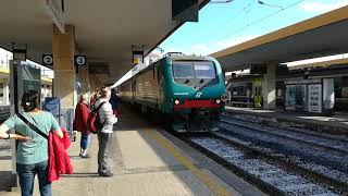 Catania Centrale,  train from Messina to Siracusa