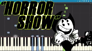 Horror Show - Bendy and the Ink Machine Song - Piano Tutorial / Cover - Komodo Chords
