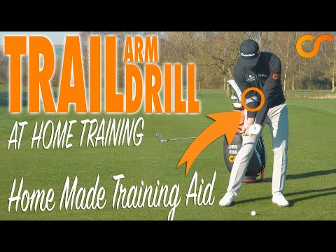 AT HOME GOLF DRILLS - THE TRAIL ELBOW
