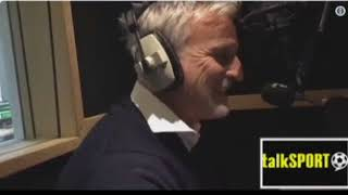 David Ginola v Eminem - Lose Yourself On Alan Brazil Show talkSPORT