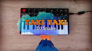 Taki Taki - Dj Snake ft. Selena Gomez, Ozuna & Cardi B | cover (Akai Mpk mini)