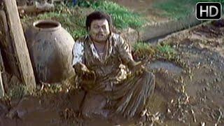 Sadhu Kokila Comedy - Sadhu kokila falls inside gutter | Kannada Scenes