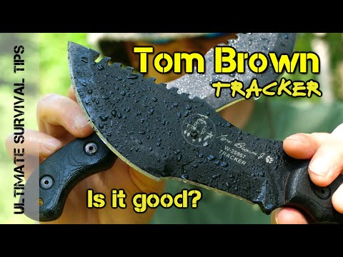 Tom Brown Tracker Knife - Part: Survival Knife / Hatchet / Throwing Blade - BUT, Is It GOOD or BAD?