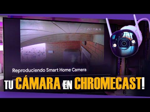 Así veo mi cámara de seguridad IMOU BULLET 2E en mi Chromecast!!