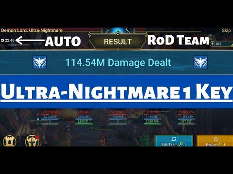 Revive on Death 1 Key UNM Team Guide I Raid Shadow Legends