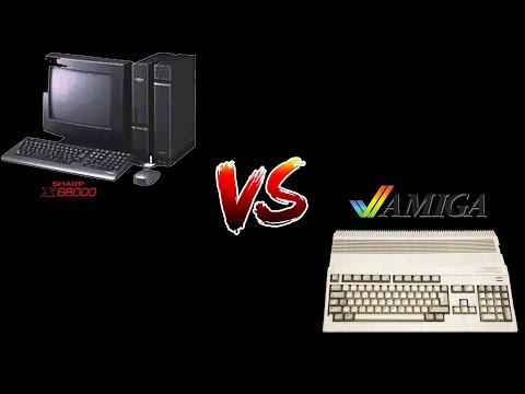 Directitos in the Middle of the night: Amiga vs. X680000
