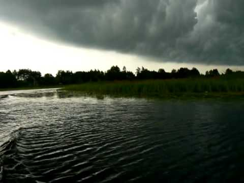 The Pripyat River. Before the storm.avi