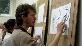 Schilderworkshop bij Toos van Poppel