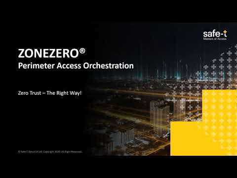 ZONEZERO® Perimeter Access [Short demo]