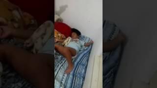 Como acordar uma criança preguiçosa !
