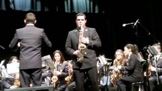 Flamenco y Solo, interpretado por la Asociación Filarmónica Ciudad de Conil