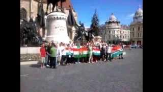 Székely Himnusz Kolozsváron!  (móri brigád)  (telefonos felvétel)