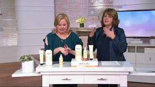 philosophy super-size purity 3-piece balanced skincare system on QVC
