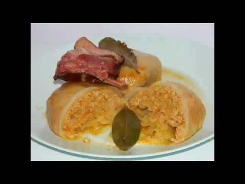 Domaca sarma od kiselog kupusa - Domestic sour cabbage rolls