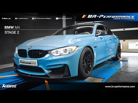 BMW M4 / Stage 2 By BR-Performance / Akrapovič Exhaust