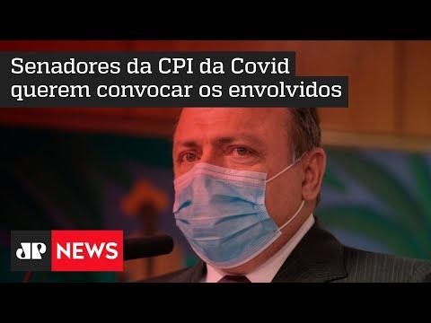 Vídeo revela envolvimento de Pazuello em negociações superfaturadas da Coronavac
