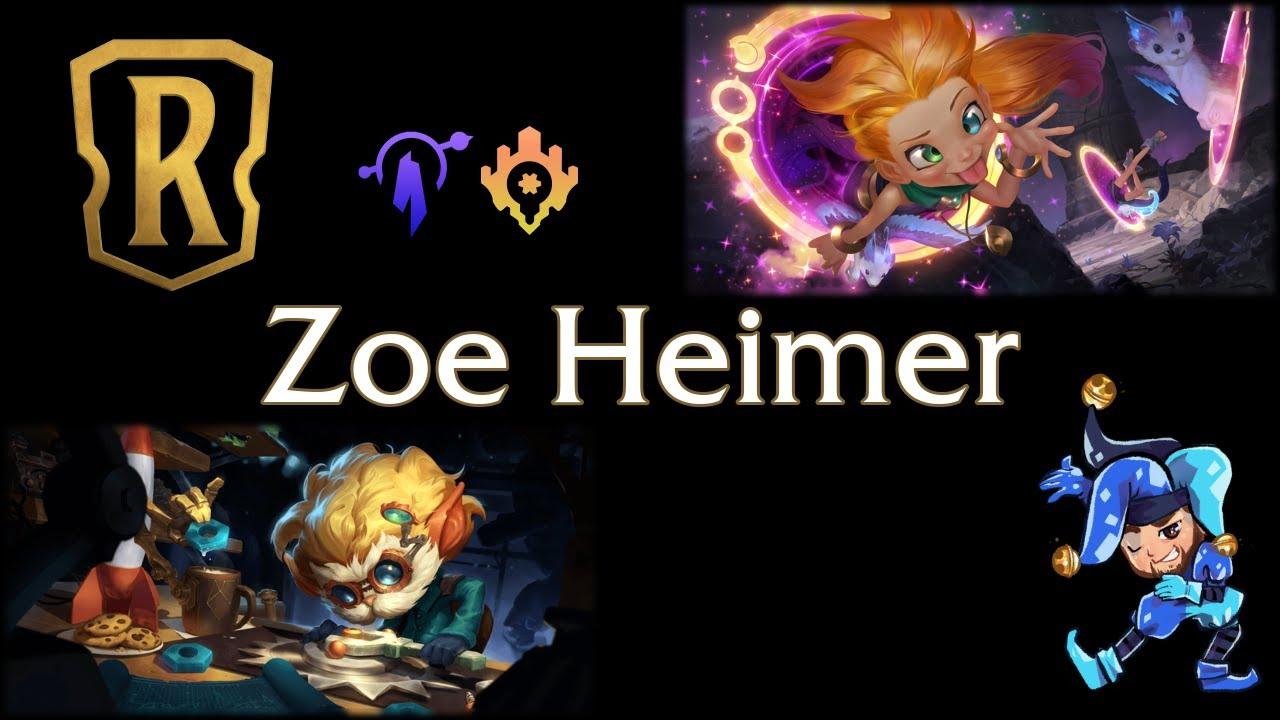Jeff Hoogland - Zoe Heimer - Legends of Runeterra Deck - January 21st, 2021