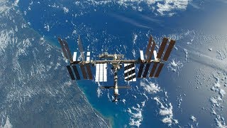 NASA/ESA ISS LIVE Space Station With Map - 505 - 2019-02-23