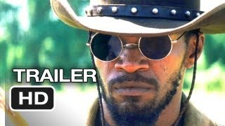 Django Unchained Official Trailer #2 (2012) - Quentin Tarantino Movie HD width=