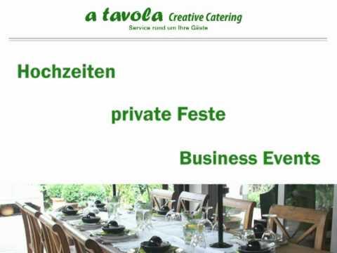 Beispiel: Ihr Caterer, Video: A Tavola.