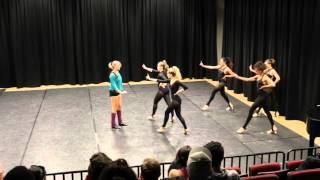 """Maniac"" choreography - Dance Workshop - University of Michigan - Ben Bogen"