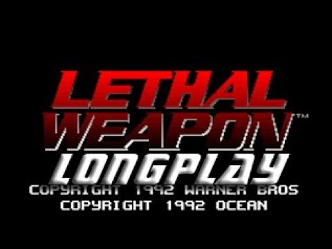 Longplay #169 Lethal Weapon (Commodore Amiga)