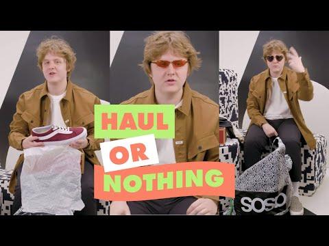 asos.com & Asos Discount Code video: Lewis Capaldi Talks Us Through His ASOS Order | ASOS Haul Or Nothing
