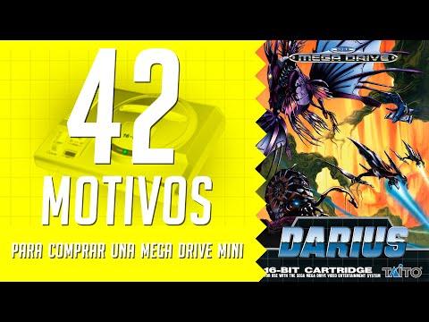 Darius. 42 motivos para comprar una Mega Drive Mini. (41/42)