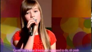 MTV Live - Count On Me by Connie Talbot