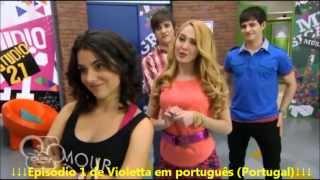 Violetta - Episódio 1 (Link na descrição) [Português]