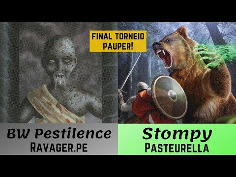 (FINAL PAUPER) BW Pestilência x Stompy!