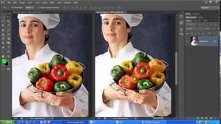 Học Photoshop - Chỉnh màu sắc theo mẫu, blend màu với photoshop