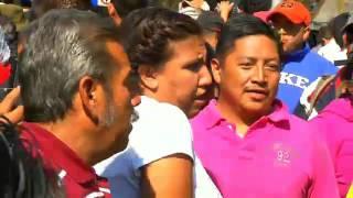 La coordinadora contraataca... la CNTE vuelve a las calles e instala plantón en Bucareli