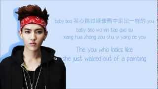 EXO-M - Peter Pan (彼得潘) (Color Coded Chinese/PinYin/Eng Lyrics) width=