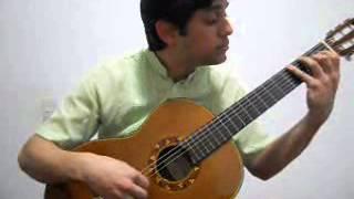 Punteada Okara (Enrique Cofier) Guitarra Nicolas Salaberry