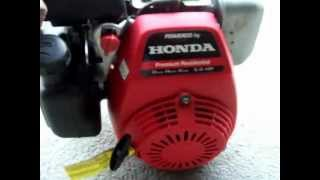 Showing a Honda GC160 Engine 5.0 HP Running for description.