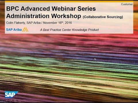 Administration Workshop (Upstream)