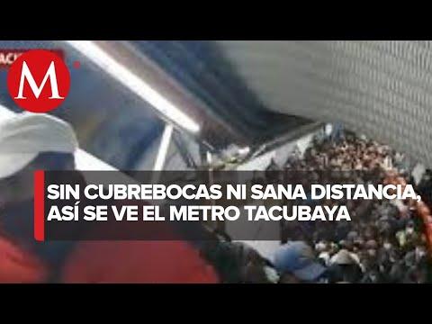 Así lució hoy el Metro de la CdMx en su reapertura