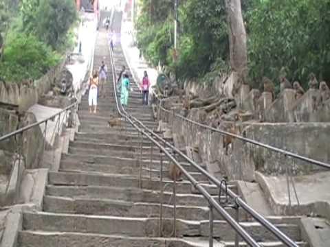 Swayambhunath 'Monkey Temple' outside Kathmandu, Nepal