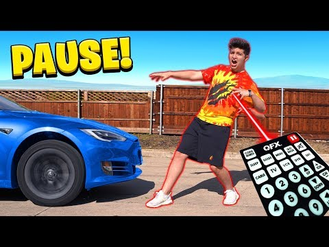 24 HOUR PAUSE CHALLENGE with MY LITTLE BROTHER! (Family Sibling Challenge)