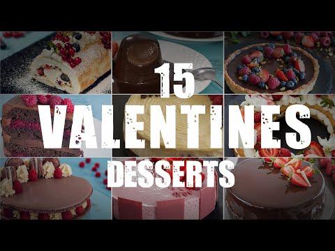 15 Valentine's Desserts